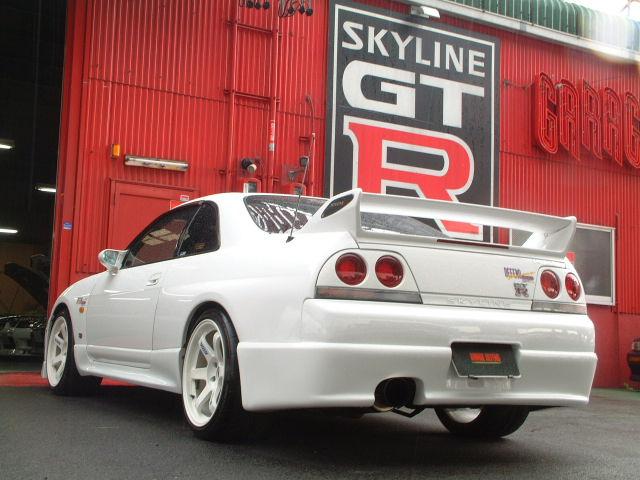 White On White R33 Gtr A S 94 Gsr